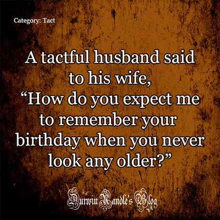 How To Remember Your Wife's Birthday
