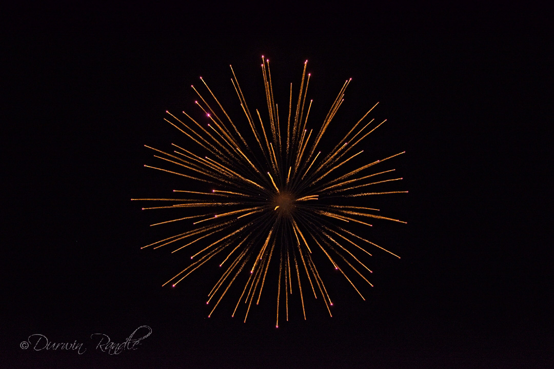 4th of July Fireworks in Webster Texas